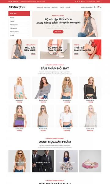 Theme thời trang FashionVN