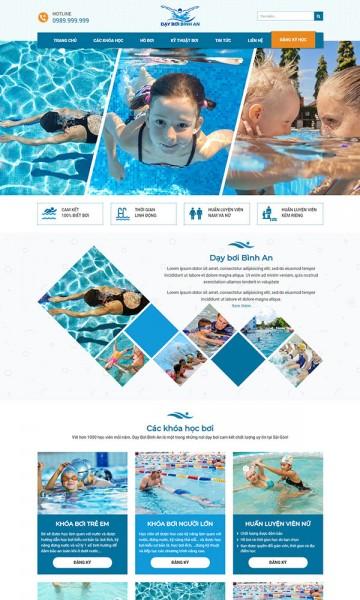 Dạy bơi bình an