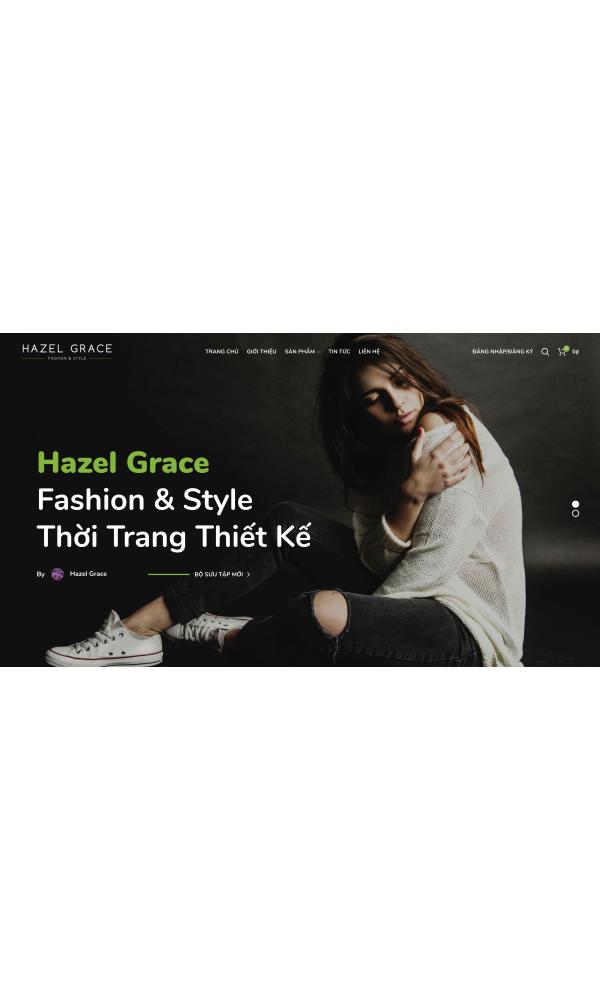 Theme thời trang Hazel Grace
